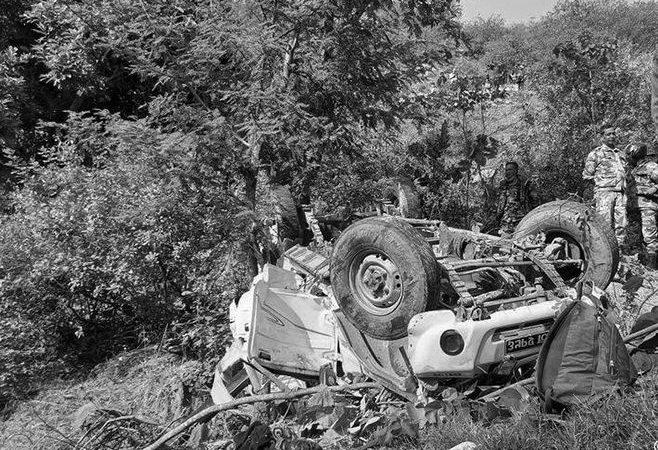 बैतडीमा जिप दुर्घटना हुँदा ५ जनाको ज्यान गयो