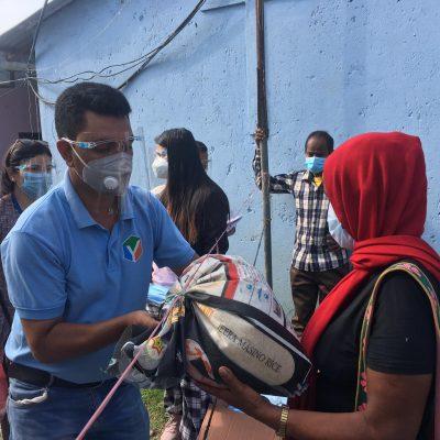 जागौ नेपाल द्धारा सुकुम्वासी बस्तीमा राहत बितरण